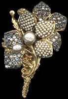 Vintage designer costume jewelry.
